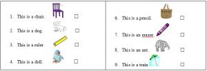 đề kiểm tra tiếng Anh lớp 2 cuối kỳ