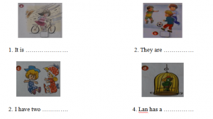 kiểm tra tiếng Anh lớp 6