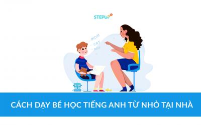 Cách dạy bé học tiếng Anh từ nhỏ tại nhà