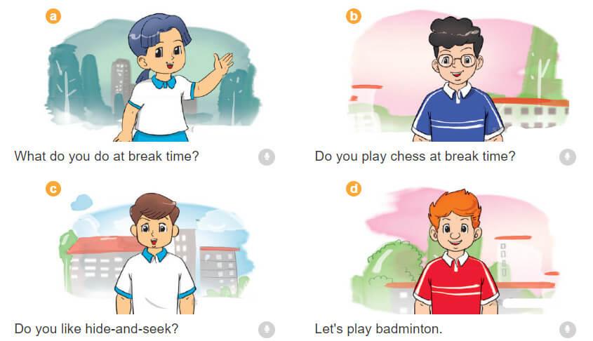 bài nói sách tiếng Anh lớp 3 tập 2 unit 10