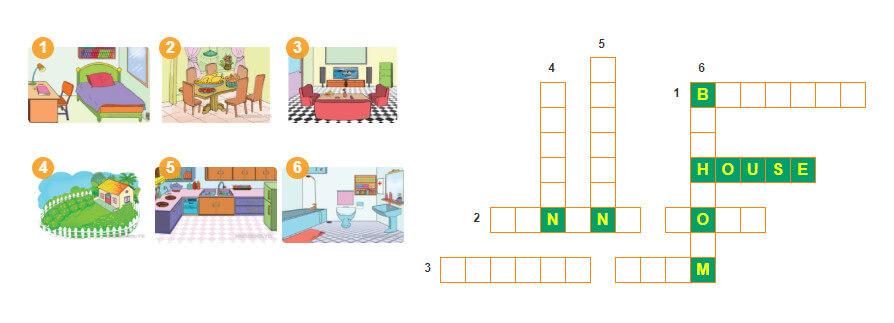 giải câu đố lớp 3 unit 12