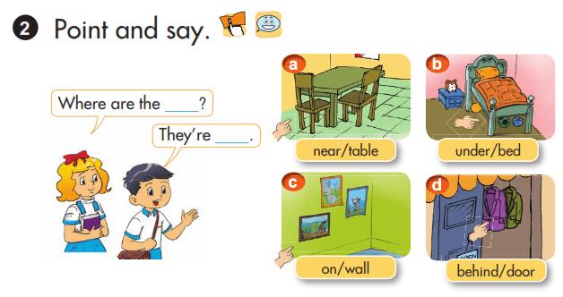 học tốt tiếng Anh lớp 3 unit 13