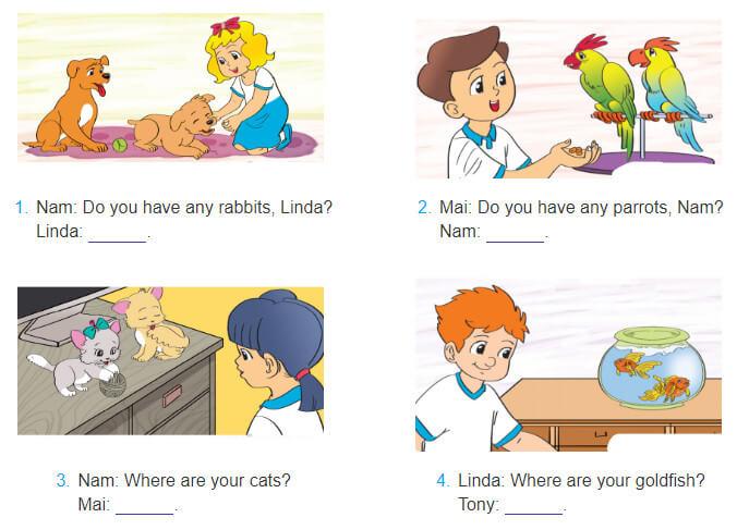 bài tập điền từ