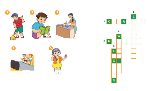 tiếng Anh lớp 3 unit 18 câu đố