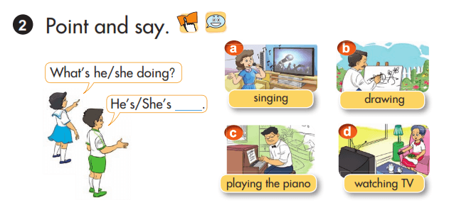 lời giải sách tiếng Anh lớp 3 unit 18
