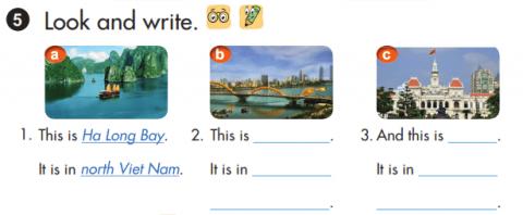 tiếng Anh lớp 3 unit 1 sách mới