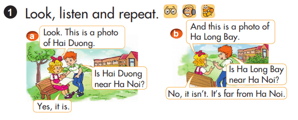 tiếng Anh lớp 3 unit lesson