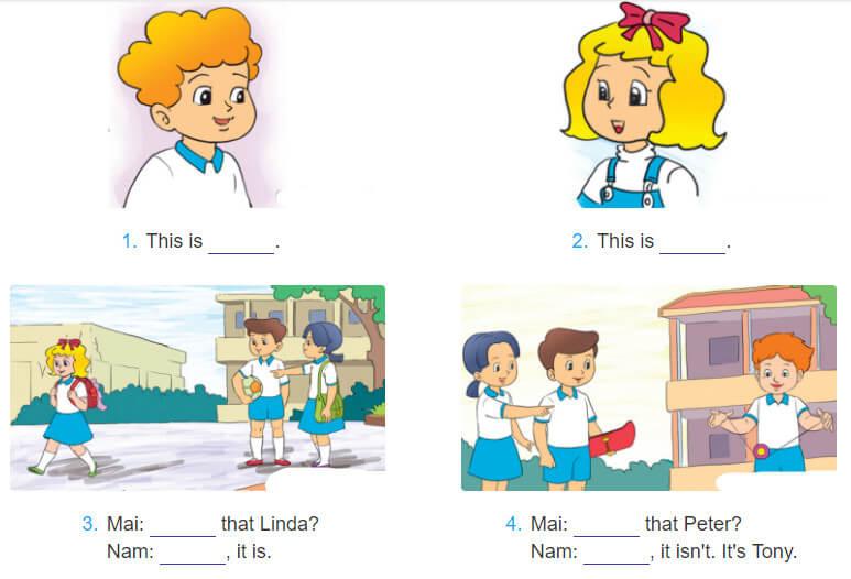 tiếng Anh lớp 3 unit 3 chương trình mới