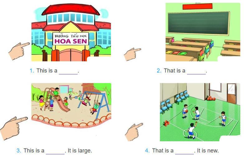 bài tâpj điền từ lớp 3