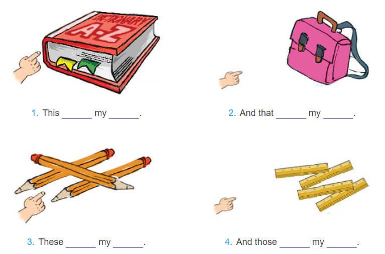 tiếng Anh lớp 3 unit 8 giải bài tập
