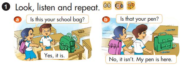 tiếng Anh lớp 3 unit 9 theo chương trình mới