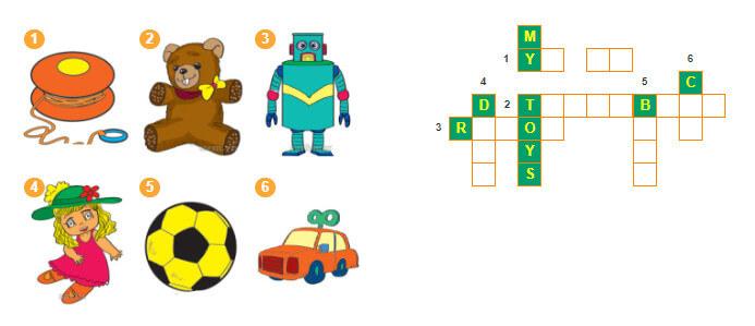 giải câu đố, sách bài tập tiếng Anh lớp 3 unit 15