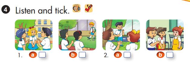 tiếng Anh lớp 3 tập 1 unit 5 chuẩn nhất