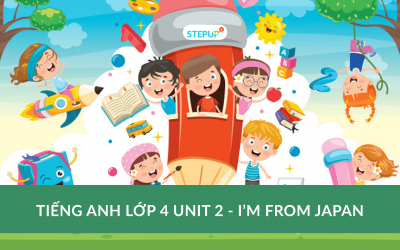 Tiếng Anh lớp 4 unit 2 – I'm from Japan