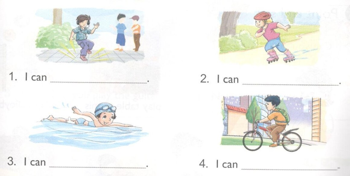 tiếng Anh lớp 4 unit 5 mới nhất