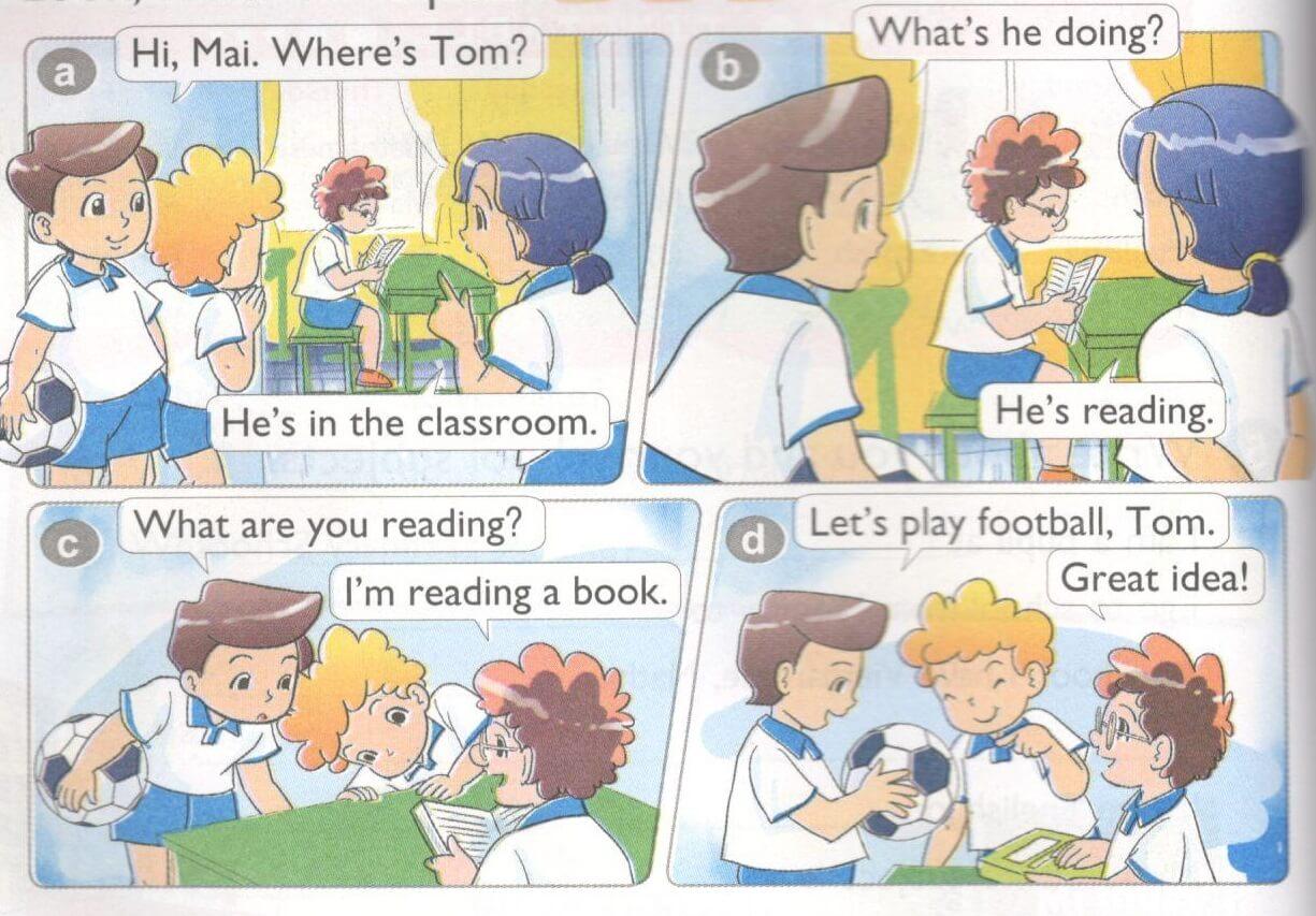 tiếng Anh lớp 4 unit 9