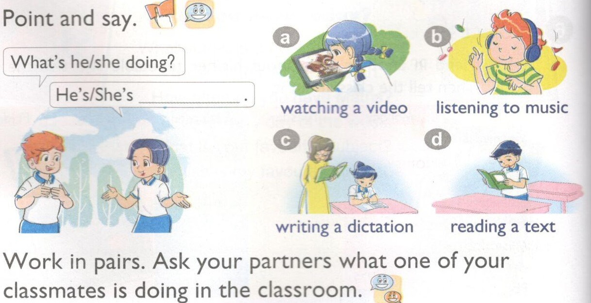 tiếng Anh lớp 4 unit 9 tập 1