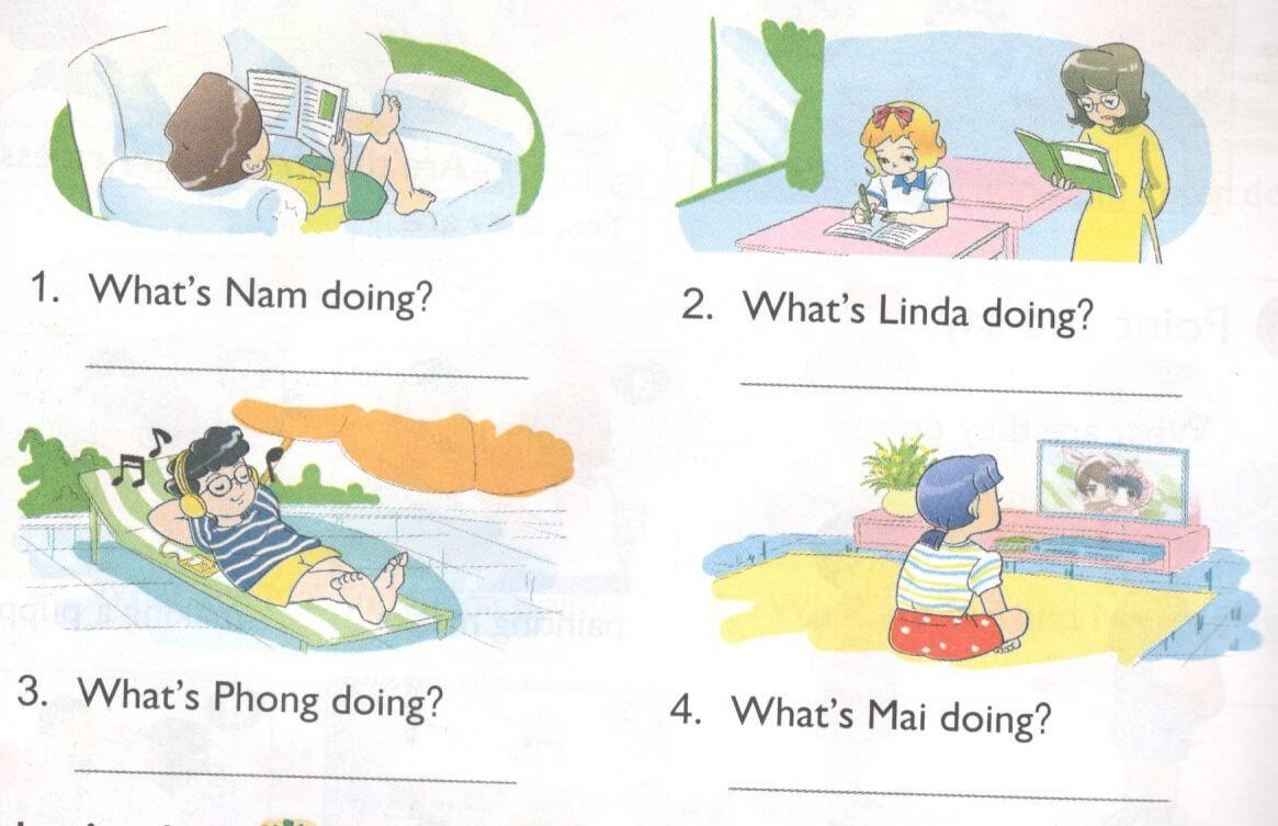 tiếng Anh lớp 4 unit 9 lesson 1