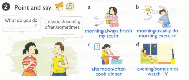 tiếng Anh lớp 5 tập 1 unit 2