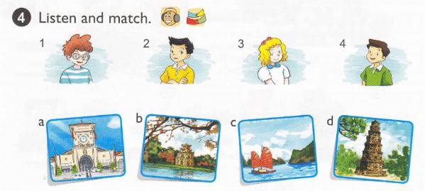tiếng Anh lớp 5 unit 3 lời giải