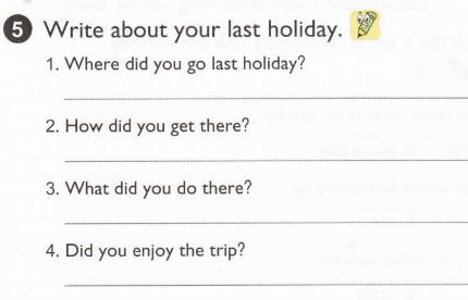 viết về kỳ nghỉ của em đi