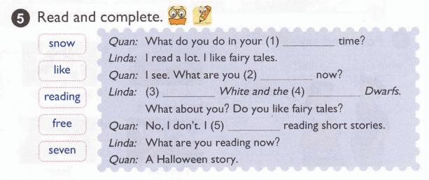 tiếng Anh lớp 5 bài 8