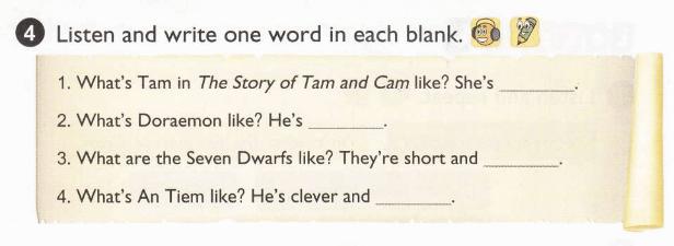 tiếng Anh lớp 5 unti 8 - lời giải chi tiết