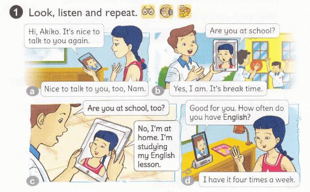 lời giải bài tập tiếng Anh lớp 5 bài 6
